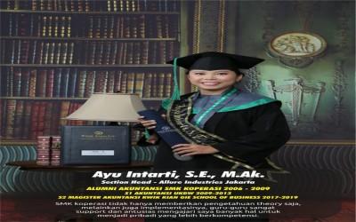 Salah satu Alumni SMK Koperasi Yogyakarta