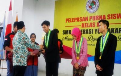 WISUDA PURNA SISWA SMK KOPERASI YOGYAKARTA 2019
